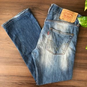 Levi's 501 Red Tag Straight Leg Jeans
